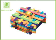 Customized Extra Long Popsicle Sticks , 150mm Jumbo Colored Craft Sticks