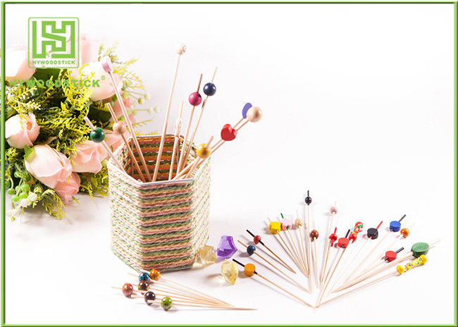 Disposable Wooden Heart Toothpicks Novelty Cocktail Sticks 10000pcs Per Carton