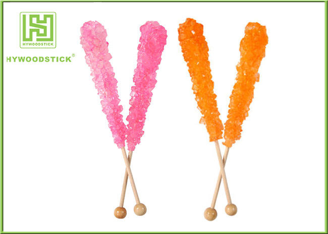 Customized Logo Wooden Lollipop Sticks Party Items Non - Flavor FSC Certificated