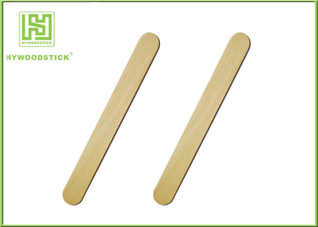 Logo Printable Disposable Wooden Spatulas Wooden Finger Splints For Hospital