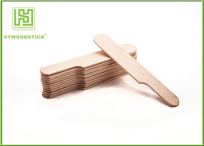 Beauty Wooden Waxing Spatulas Mini Wooden Paddles For Cream Mixing Stirrer Smooth Surface
